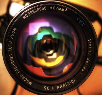สิ่งที่ทำให้คนมองเห็นคือตาสิ่งที่ให้กล้องมองเห็นคือเลนส์